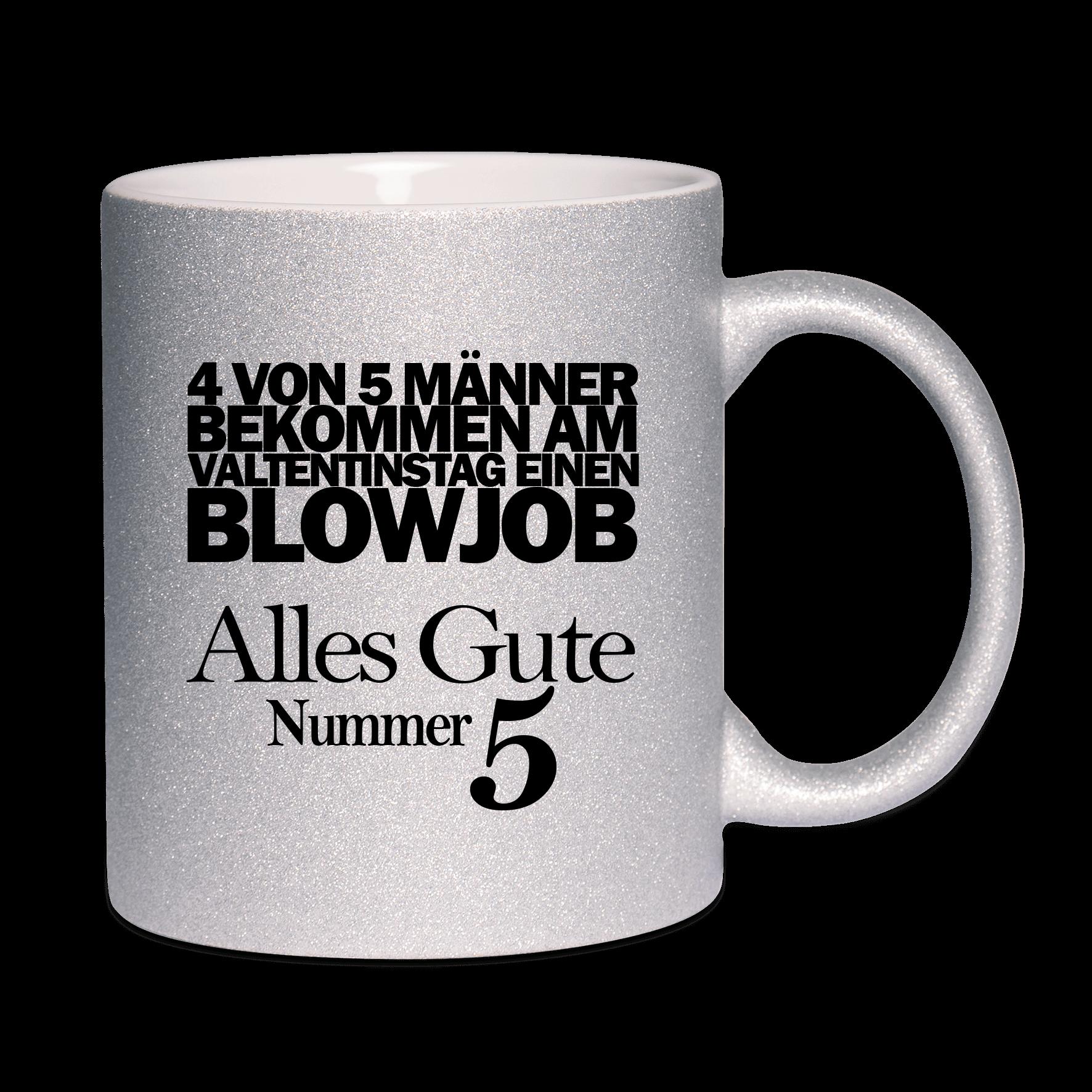 4 von 5 Männer bekommen am Valentinstag einen Blowjob. Alles Gute Nummer 5