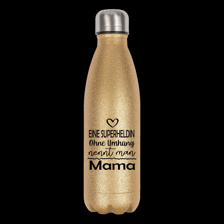 Eine Superheldin ohne Flügel nennt man Mama - Flasche